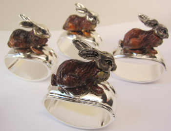 Animal Napkin Rings For A Fun Table
