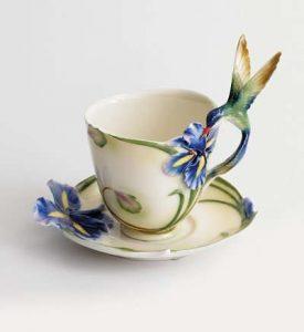 Hummingbird gifts tea cup