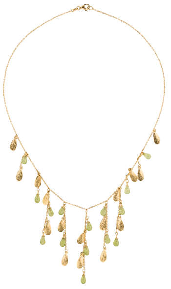 Roberto Coin 18K Peridot Fringe Necklace