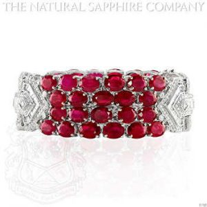 rubies bracelet for valentine
