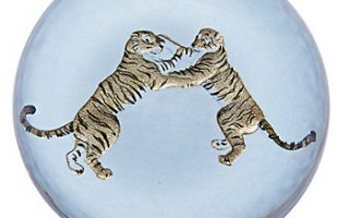 Glass Animal Paperweights
